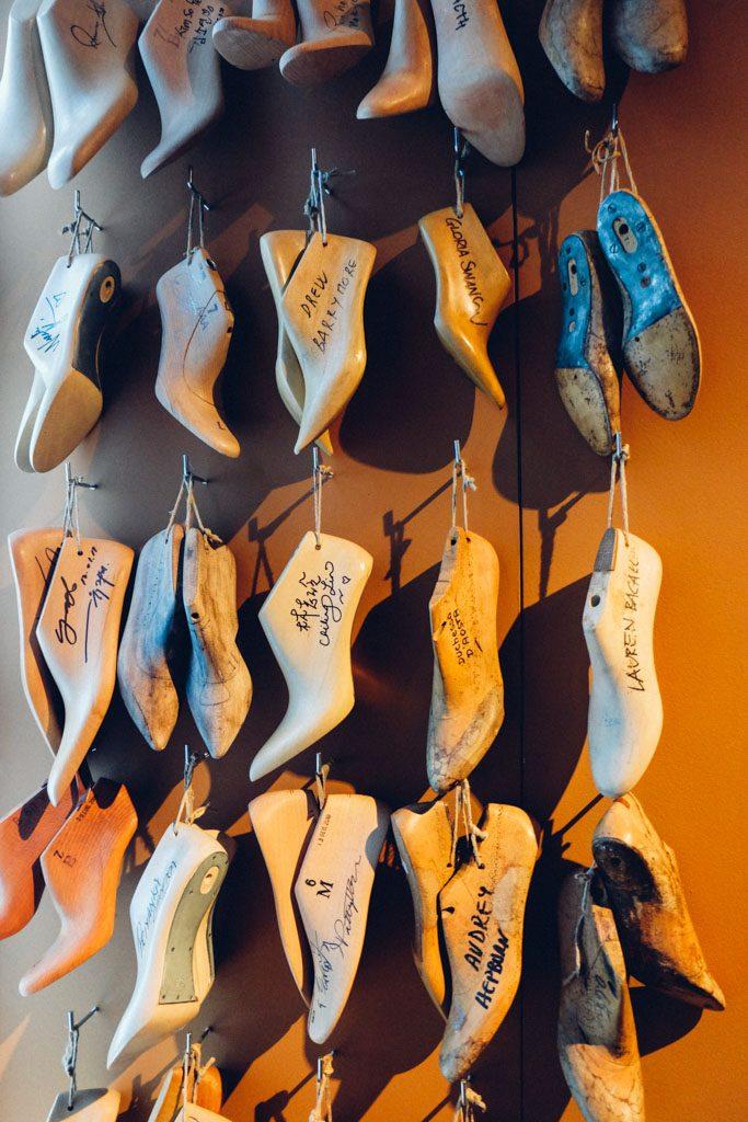 Custom made Ferragamo shoes