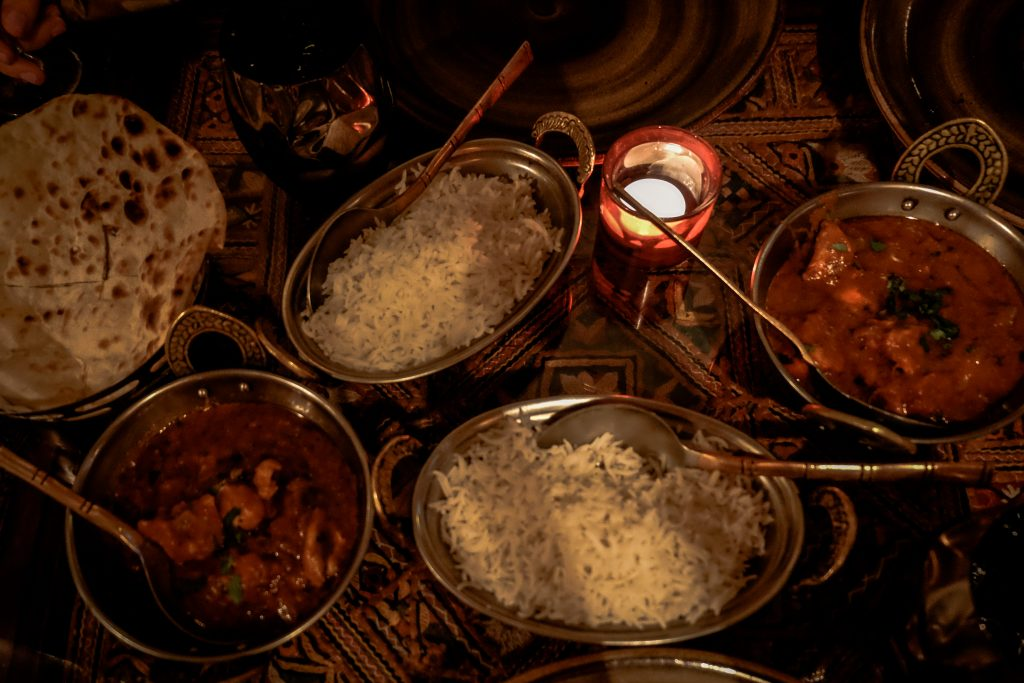 Indian food in Rome Krishna