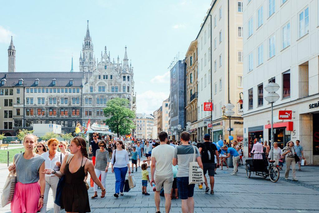 Munich-city center