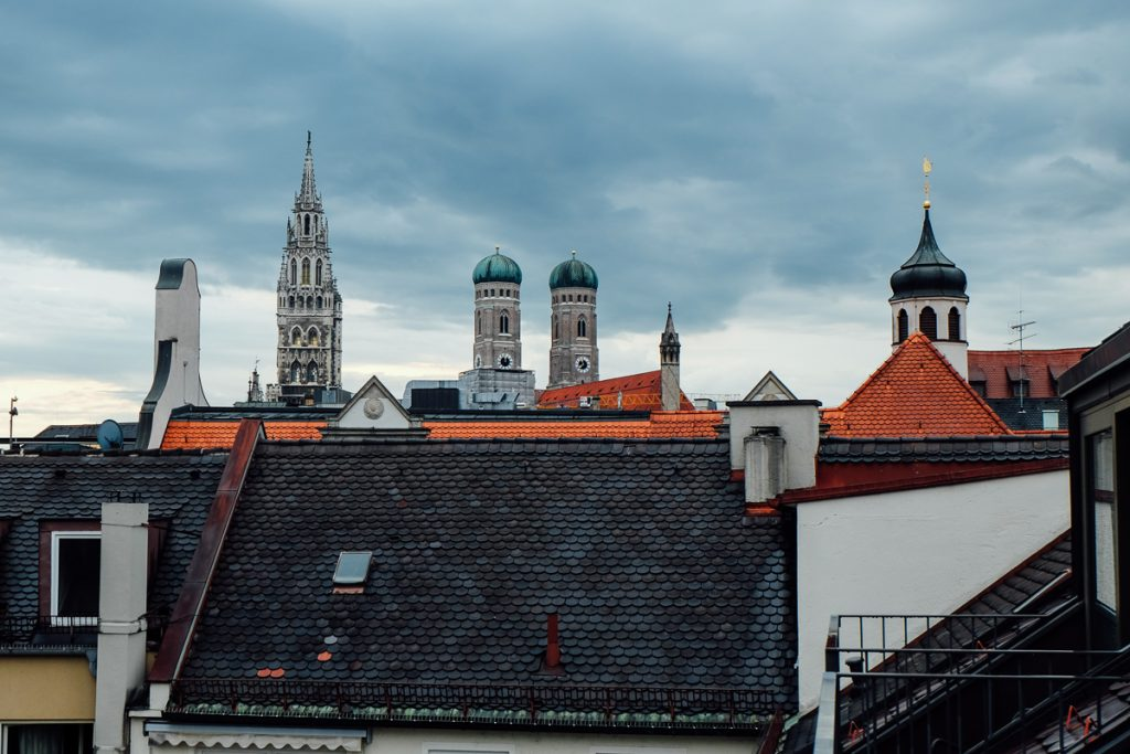 Munich-rooftops from cortiina