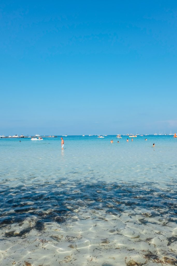 Palermo beach nearby