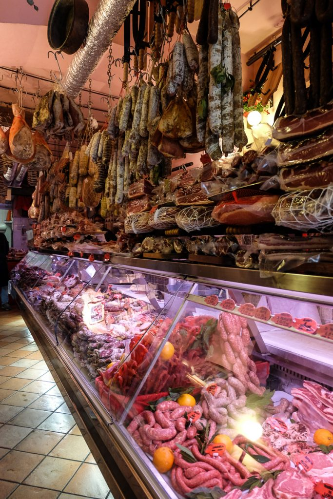 Rome specialty food shop