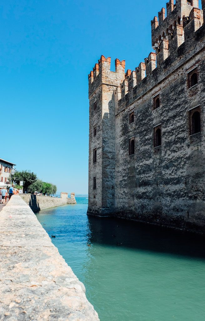 Sirmione Italy Castle