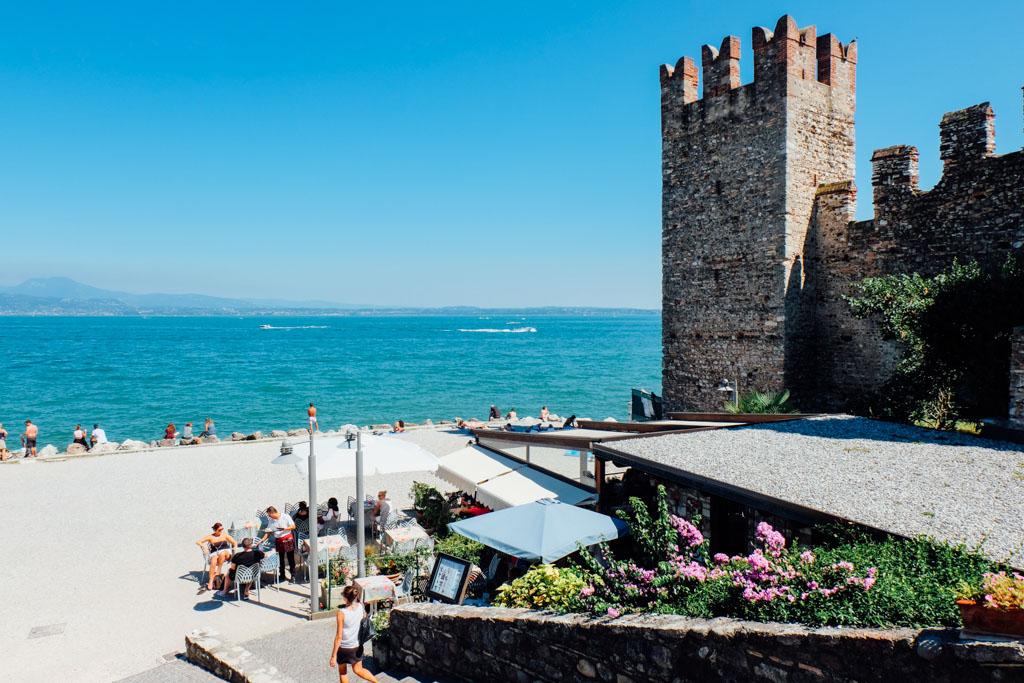 Sirmione Italy Beach