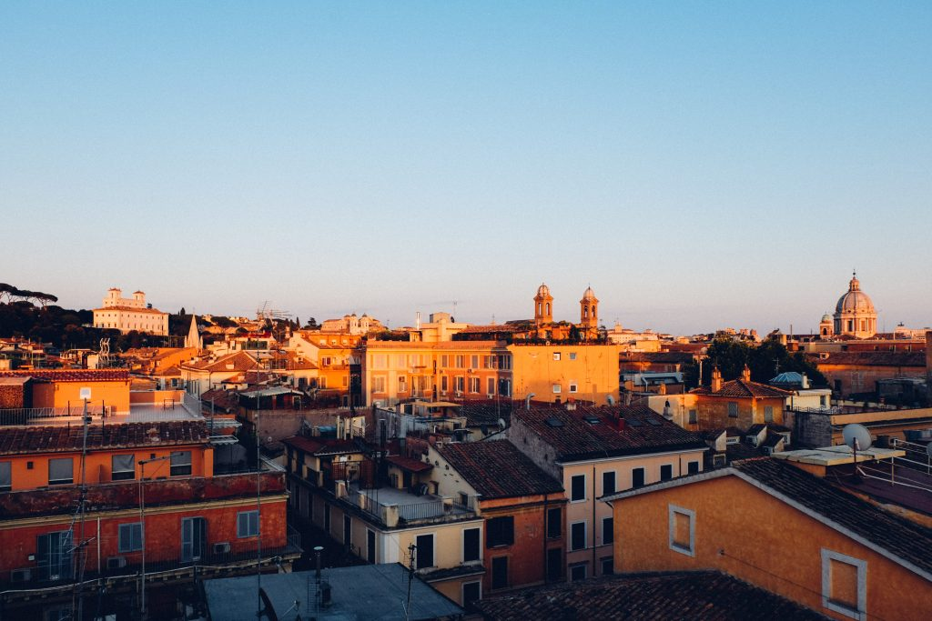 Rooftop Cocktails In Rome The First Luxury Art Hotel An