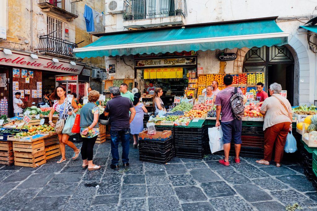 la pignasecca naples food market