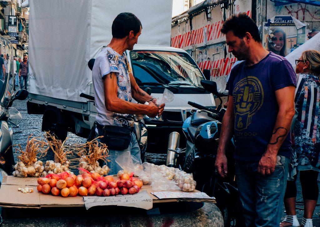 naples onion sellers