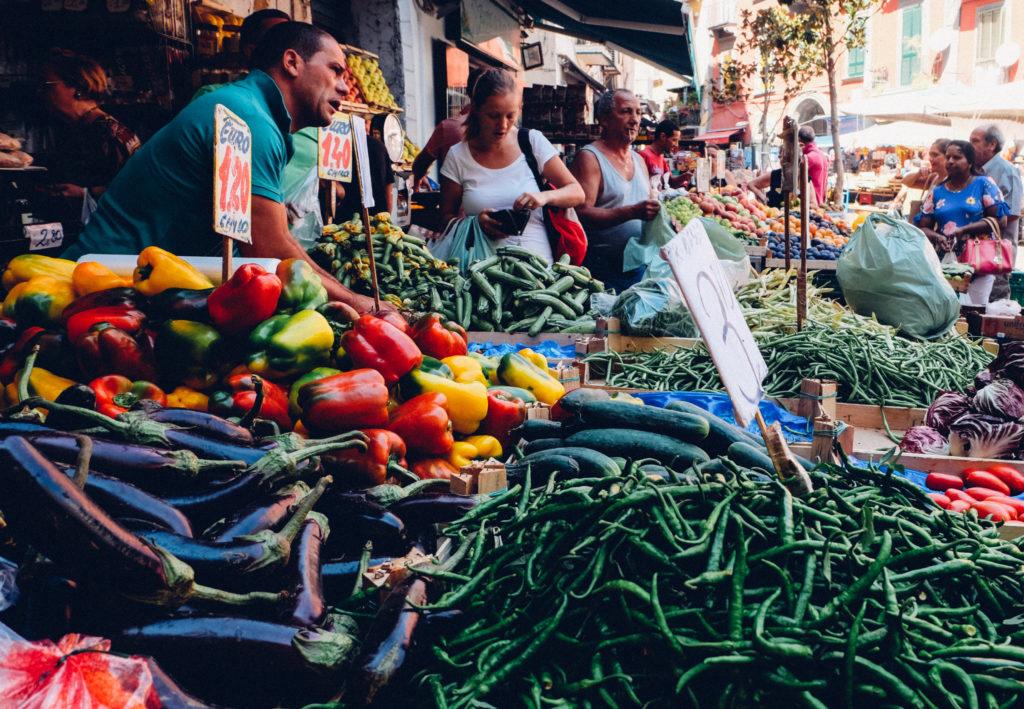 Image result for Pignasecca food market, Naples