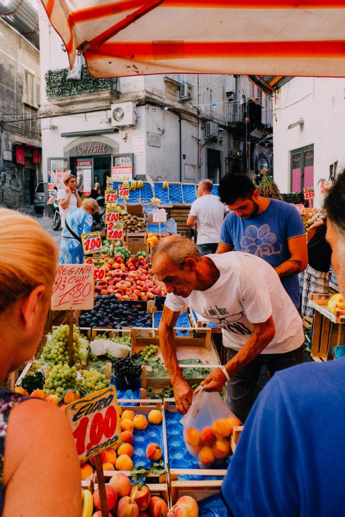 la pignasecca mercato