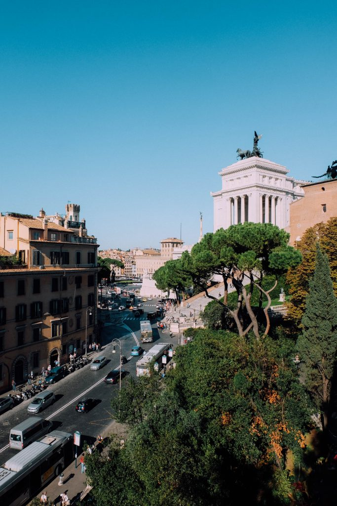 Drinks On The Terrace Of The Capitoline Museums An