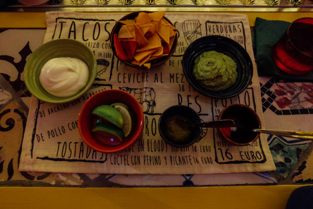 Mexican food in Rome