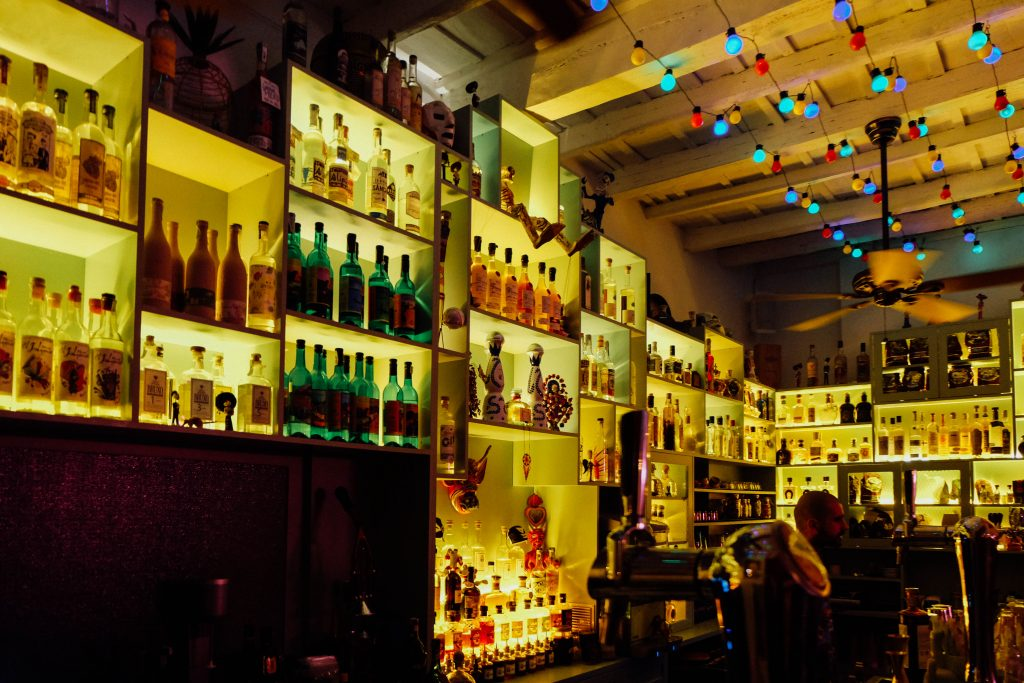 Mexican bar in Rome
