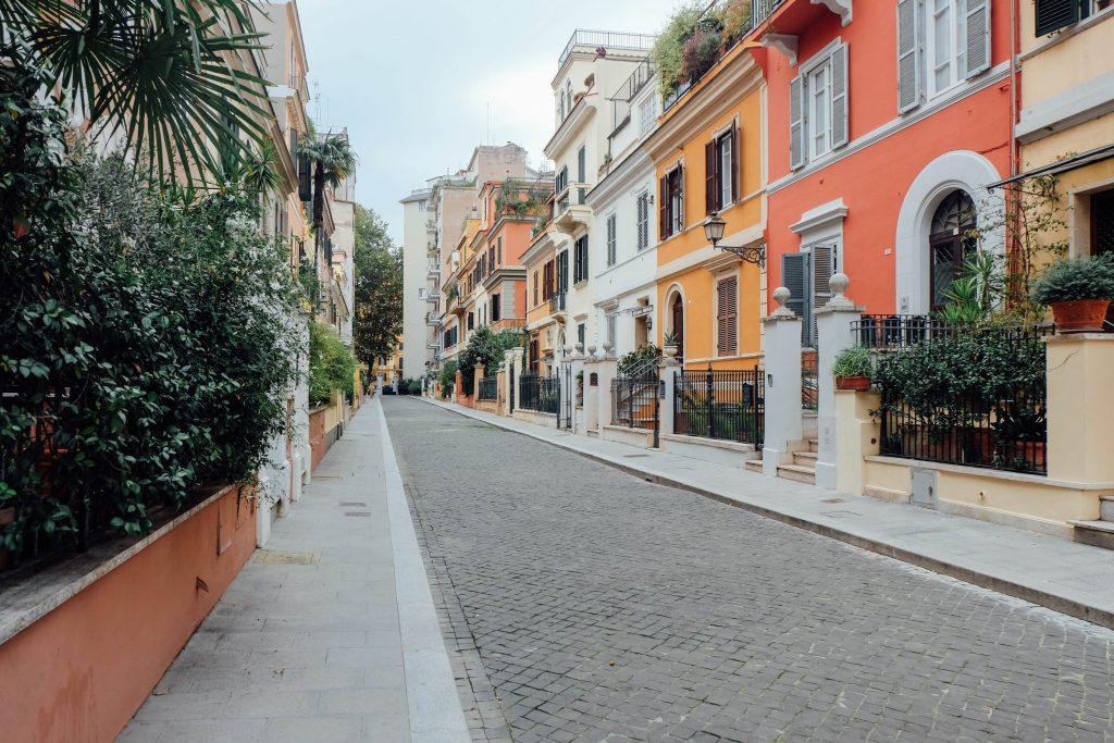 street in rome prati