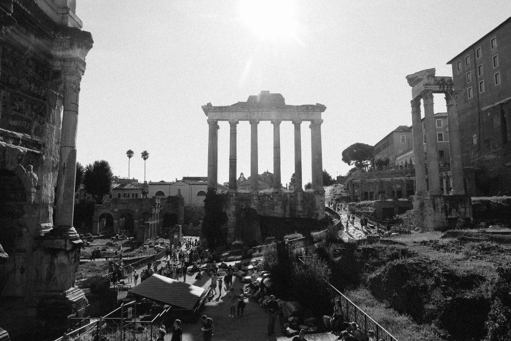 roman-forum-black-and-white-1