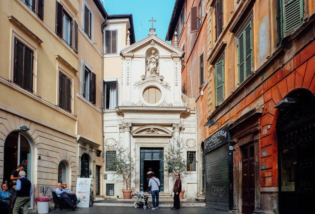 santa-barbara-dei-librai in Rome