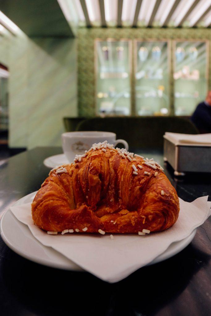 Breakfast at Prada