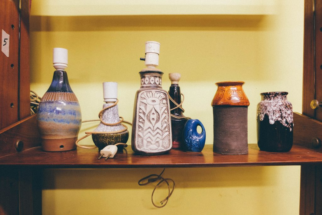 vintage lamps rome
