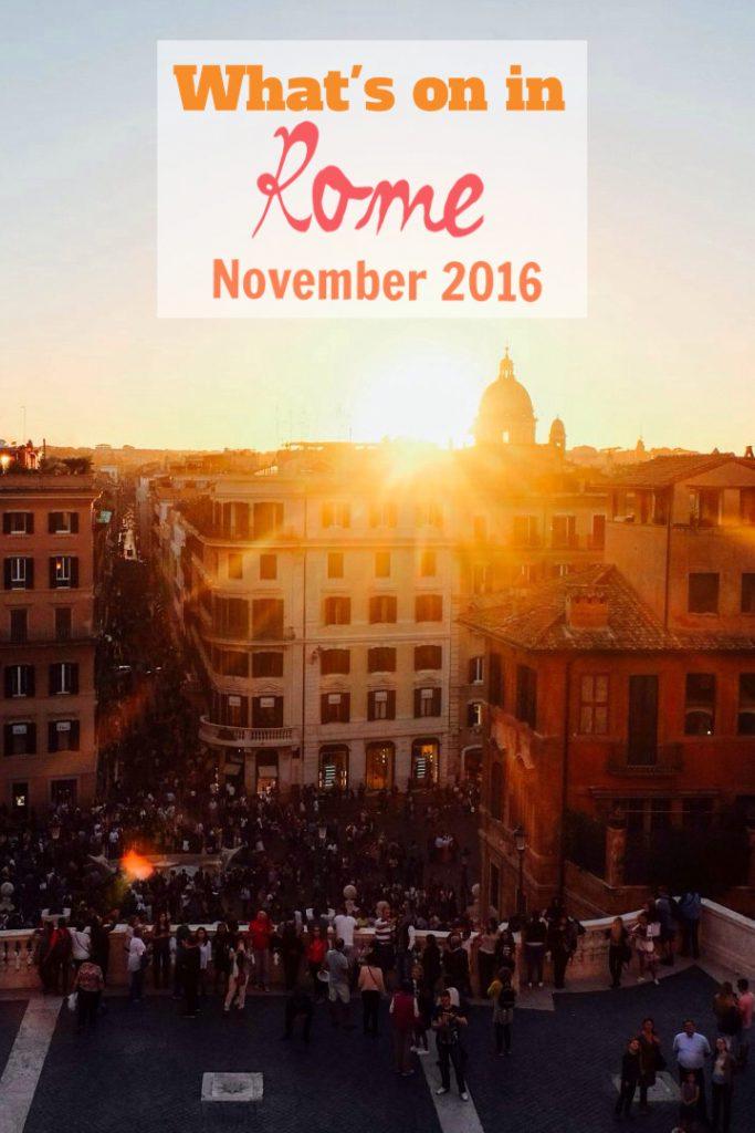 Rome Events November 2016