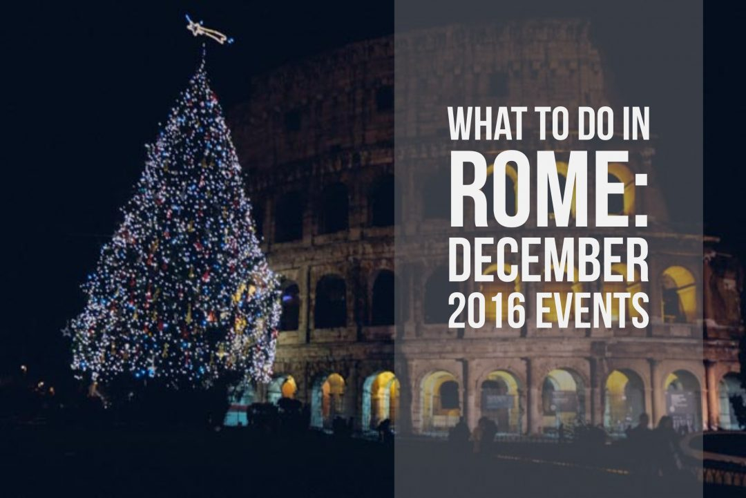 december 2016 events in Rome
