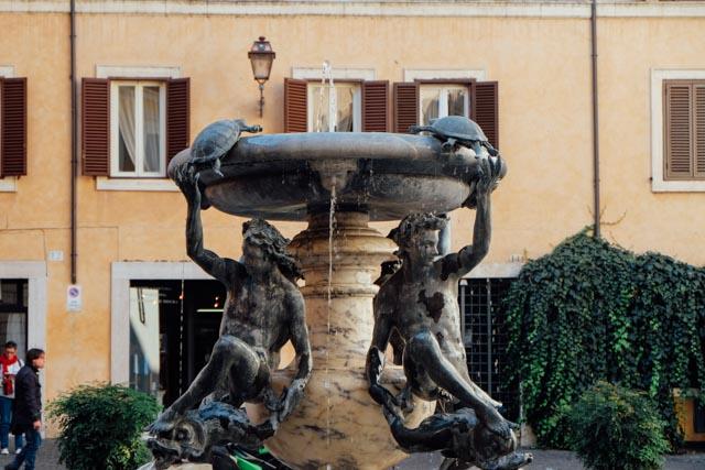 Turtle fountain rome