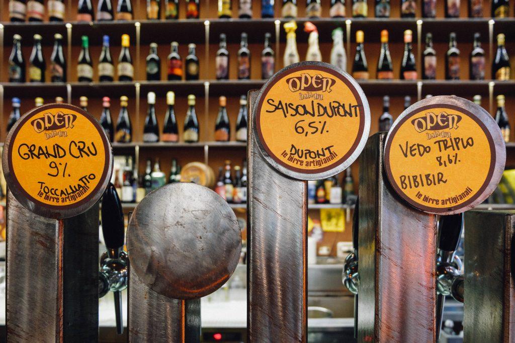 Baladin beer in Rome