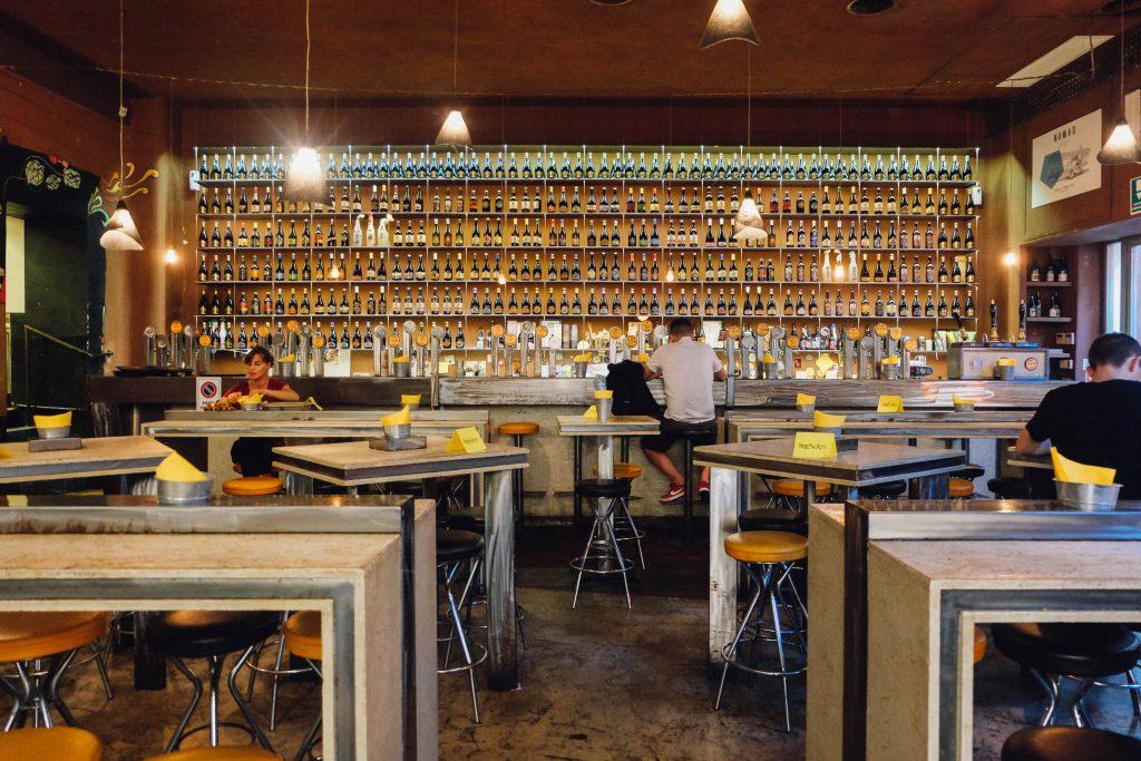 Open Baladin Beer in Rome