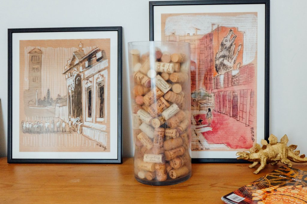 saving wine corks