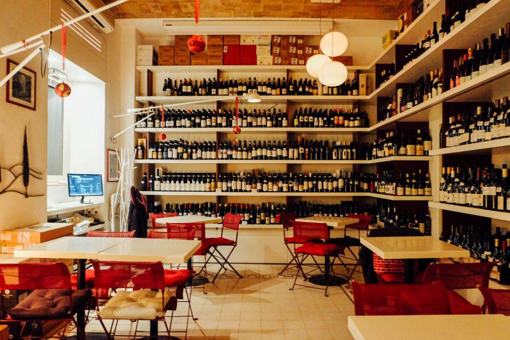 wine concept Rome bar