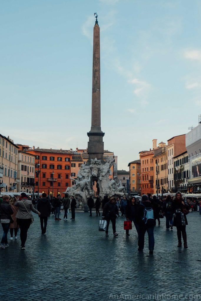 piazza navona obelisk