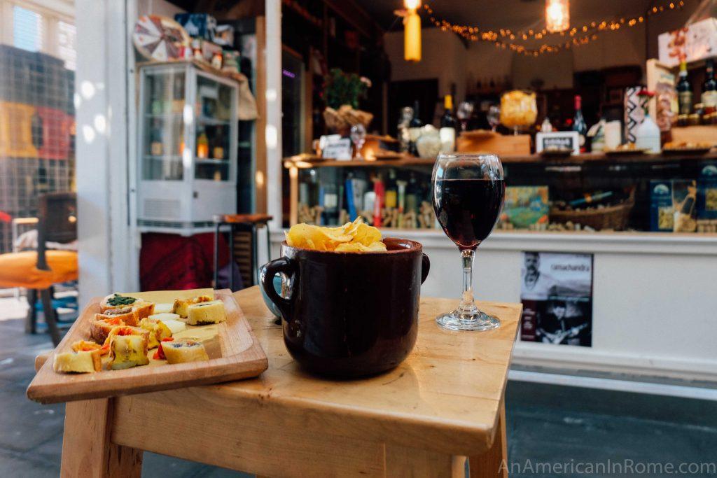 Chicchi e Lettere: Wine and Coffee in the Testaccio Market