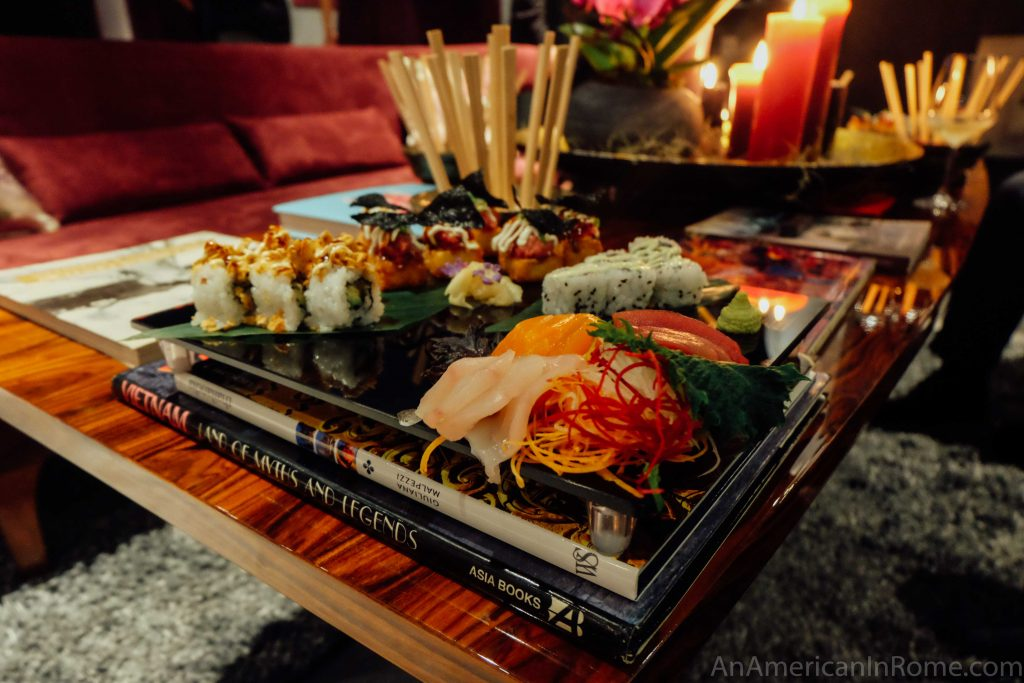 le asiatique sushi rome