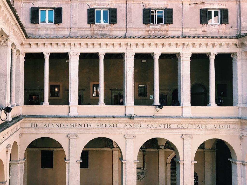 Chiostro del Bramante: Art Space and Coffee Shop in Rome