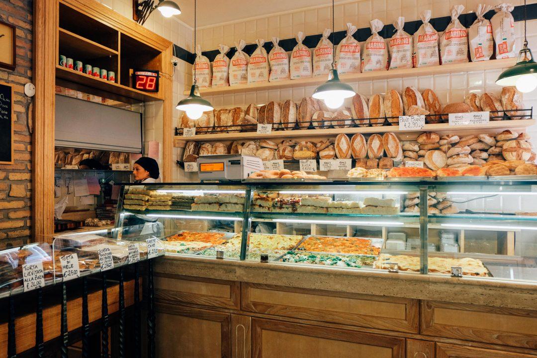 Panificio bonci in prati rome an american in rome for Arredamento pizzeria prezzi