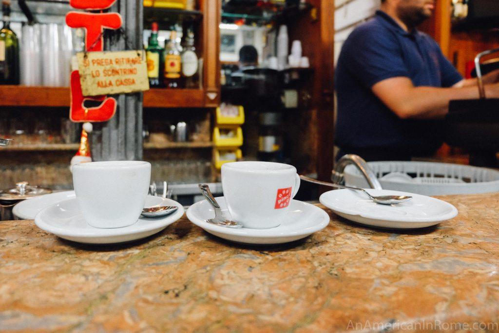 Caffè Corretto in Italy