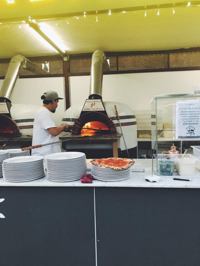 Da Michele Pizza Summer Pop Up Along Rome's River - An American in Rome