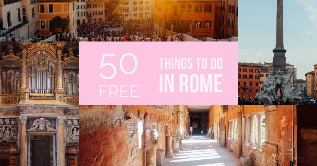50 Free Things to Do in Rome - An American in Rome