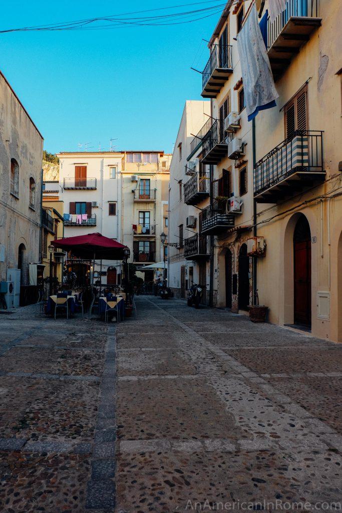 Cefalu Sicily near Palermo