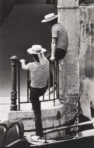 Gianni Berengo Gardin photo of Venice in 1960