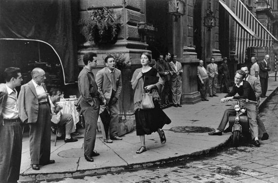 Ruth Orkin photo of an American Girl in Italy