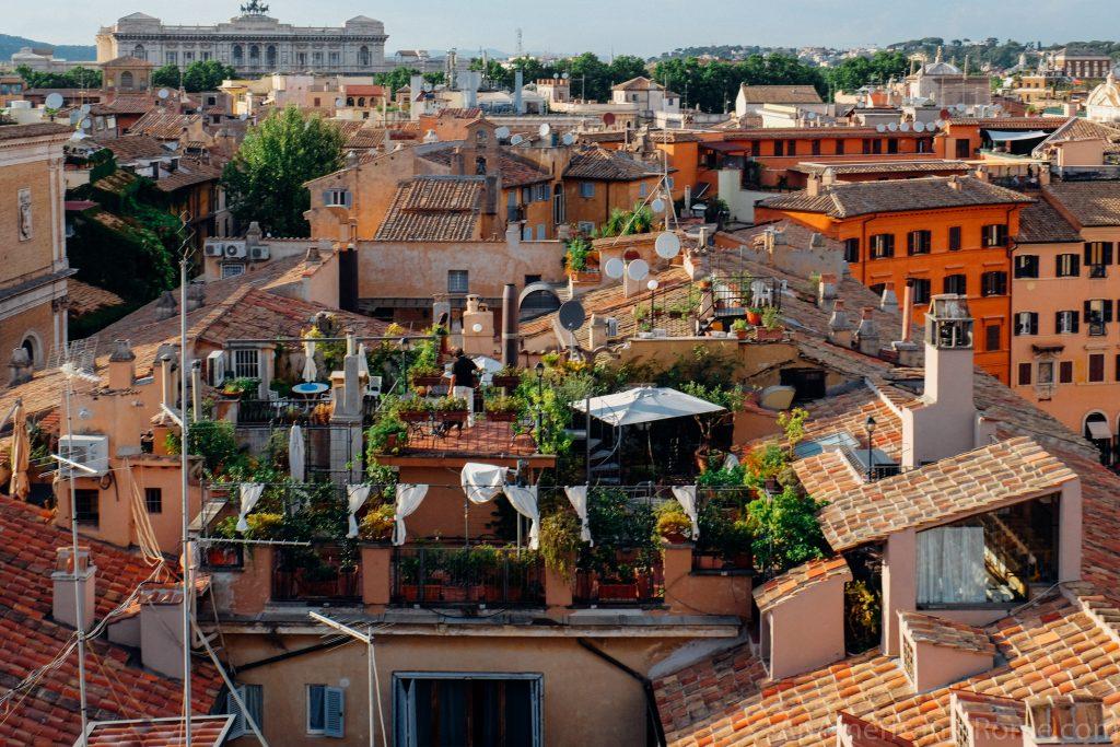 Eitch Borromini Rome S Stunning Rooftop Restaurant La