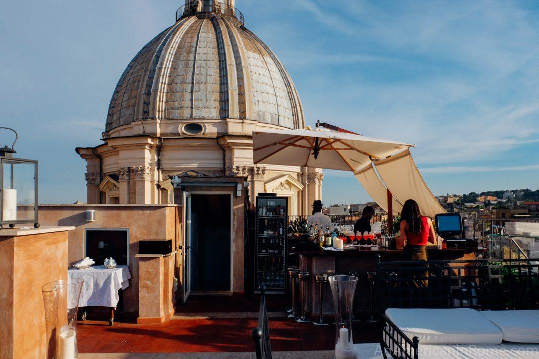 Eitch Borromini: Rome\'s Stunning Rooftop Restaurant \'La Grande ...