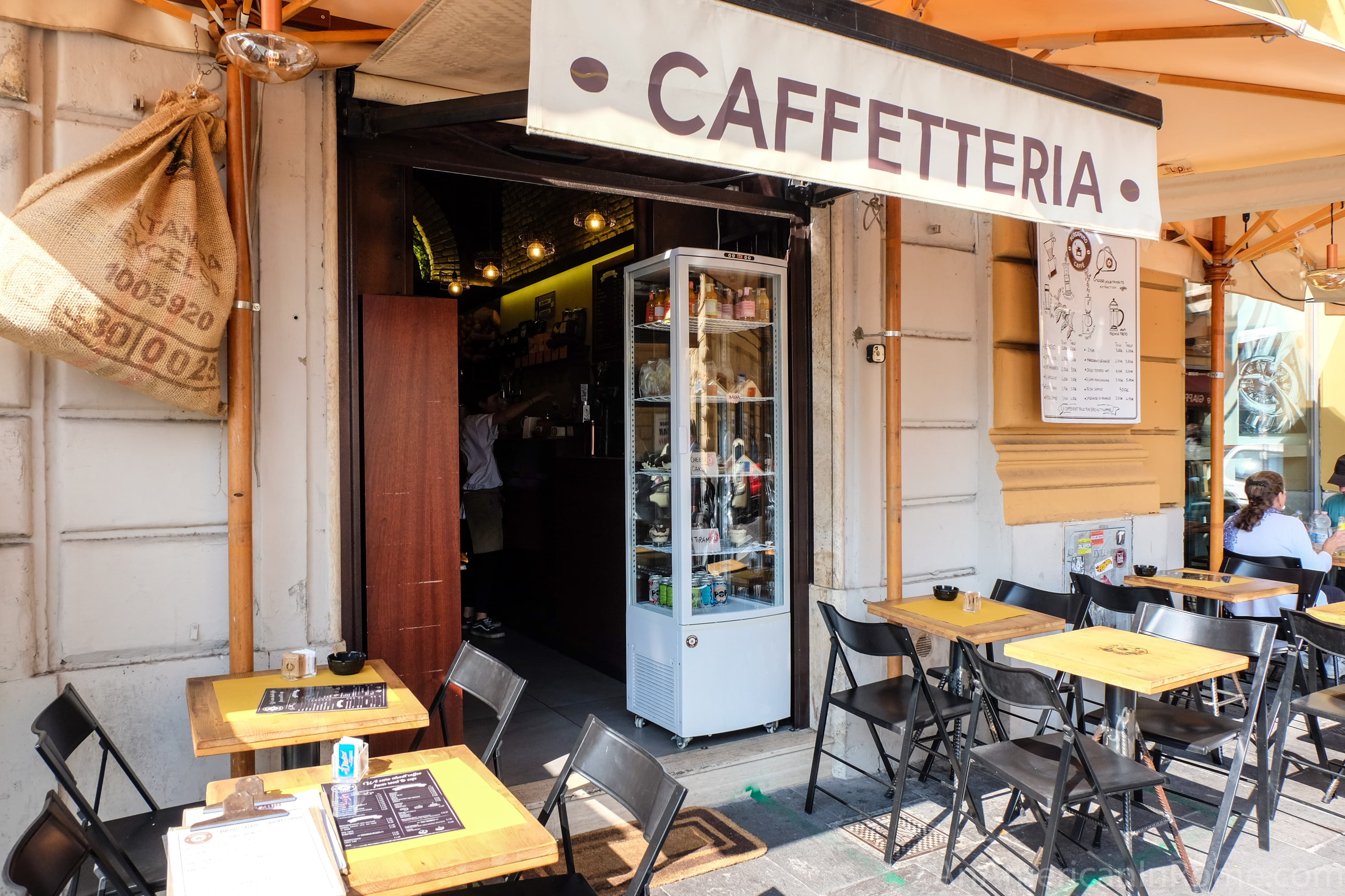 Pergamino Caffe Third Wave Coffee Near The Vatican In Rome