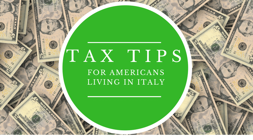 Living in italy as an american