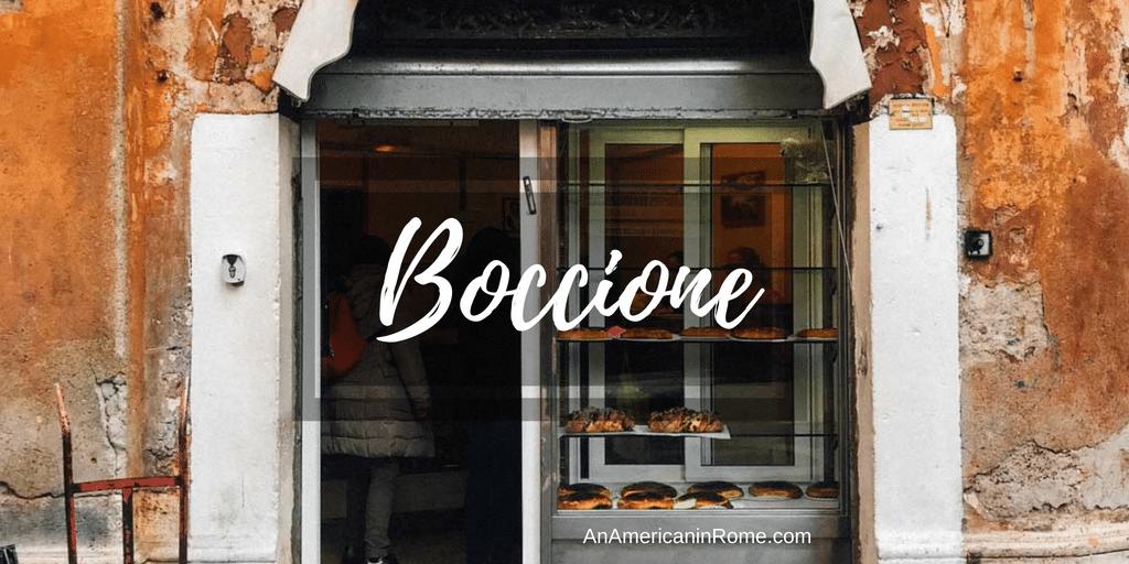 Boccione: Forno in Rome's Jewish Ghetto