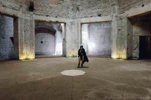 inside domus aurea