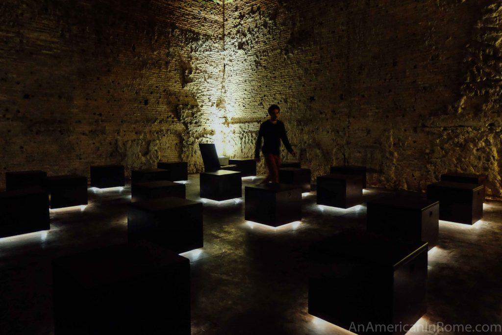 virtual reality room at the Domus Aurea