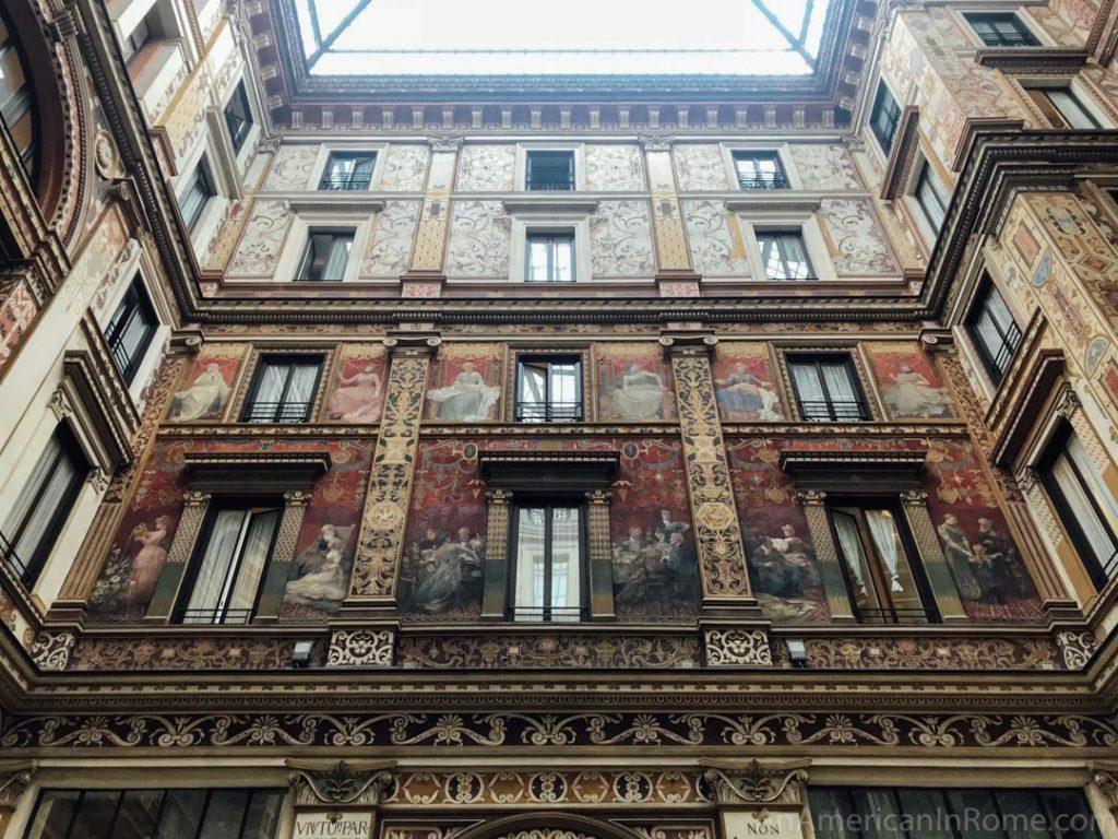 Unexpected Rome: Painted Perfection of Galleria Sciarra