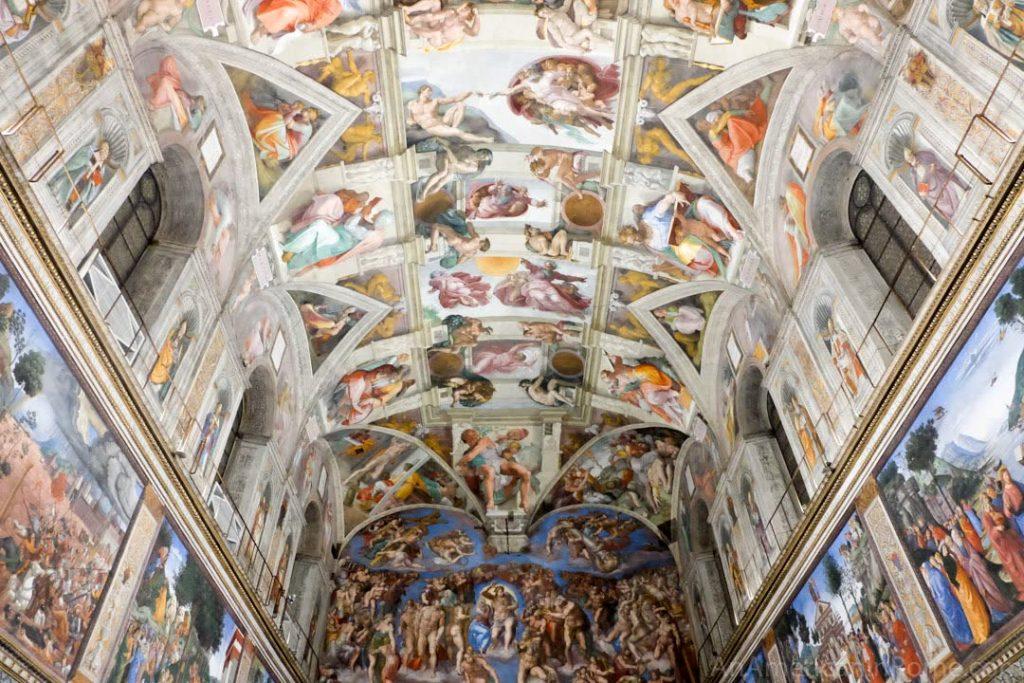 Visiting the Vatican at Night