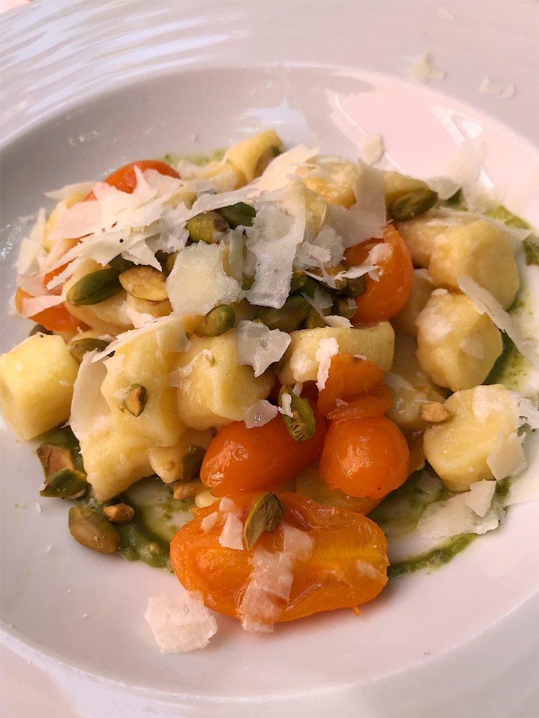 gnocchi at Ristorate Sibilla