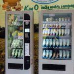 Italian cheese in a vending machine